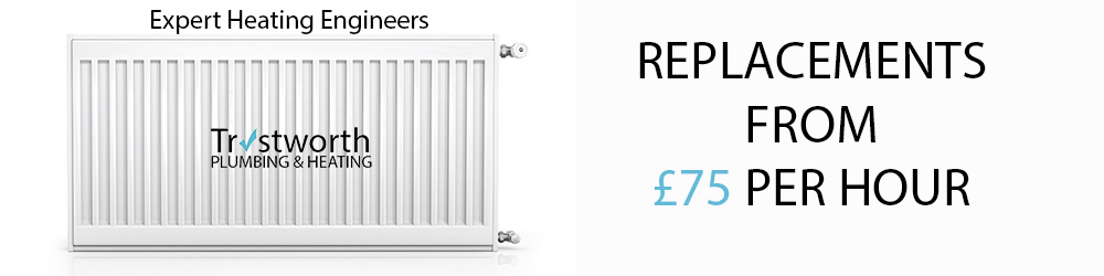 Radiator Replacement Service From £75 Per Hour